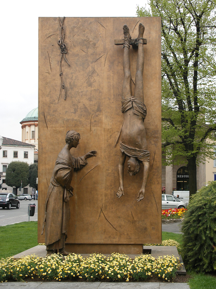 Image result for monumento al partigiano manzù bergamo